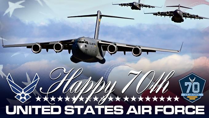 Air Force celebrates milestone birthday