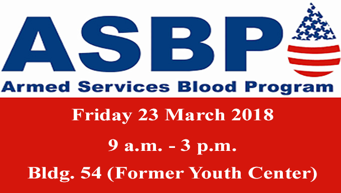 ASBP returning to Cannon to host blood drive